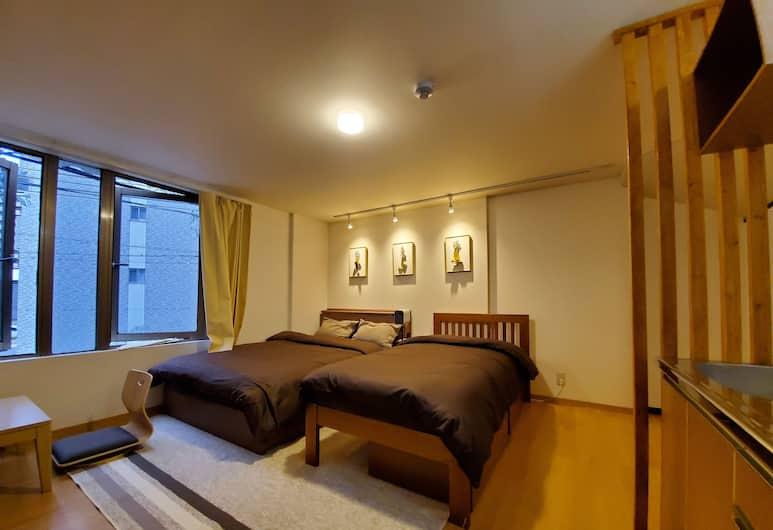 Sakuranomiya Hotel, 大阪市, デラックス 4 人部屋, 部屋