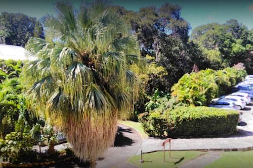 サンタンヌにあるスタジオ、塀で囲まれた庭園と