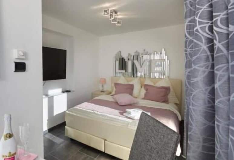 Twin Tower Apartments Vienna, Vienne, Chambre Double Deluxe (1), Chambre