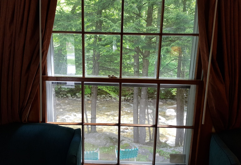Franconia Notch Motel, Lincoln, Basic-Zimmer, Flussblick, Blick aufs Wasser