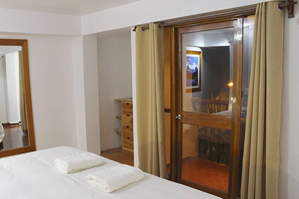 Δίκλινο Δωμάτιο (Double), Ιδιωτικό Μπάνιο - Δωμάτιο επισκεπτών