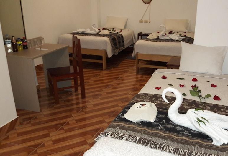 بيرومانتا بد آند بريكفاست, ماتشو بيكتشو, غرفة ثلاثية بتجهيزات أساسية, غرفة نزلاء