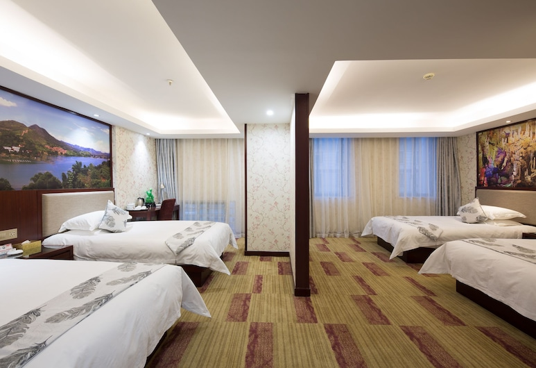 Yiwu Ruide Hotel, Jinhua, Deluxe háromágyas szoba, Vendégszoba