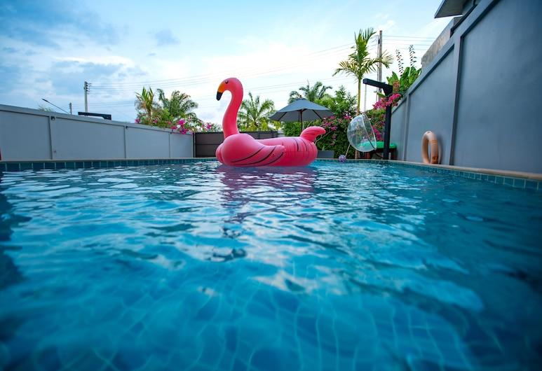 奥南九游泳池别墅酒店, 甲米, 游泳池