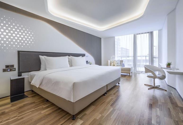 Flyzoo Hotel -- Alibaba, Hangzhou, Dvojlôžková izba typu Signature, nefajčiarska izba, Hosťovská izba
