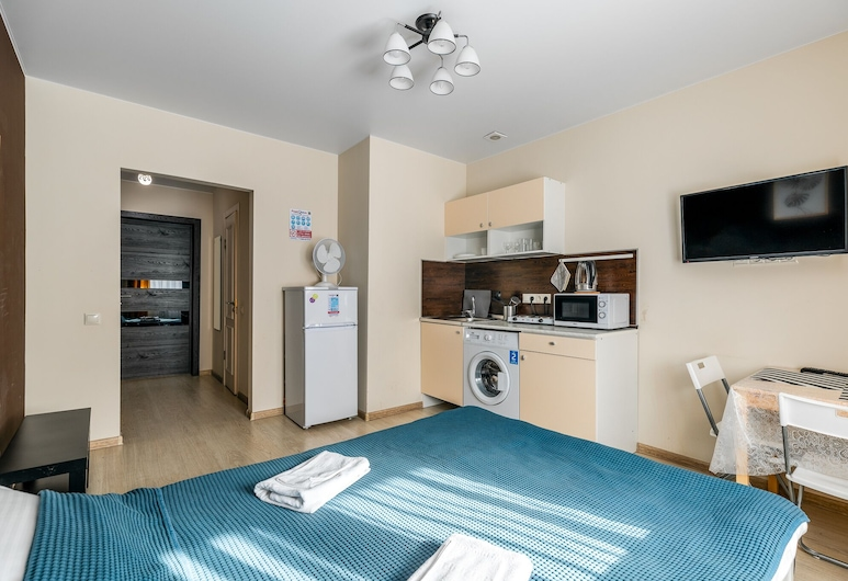 Apartment in Krasnogorsk, Krasnogorsk, Comfort apartman, Privatna čajna kuhinja