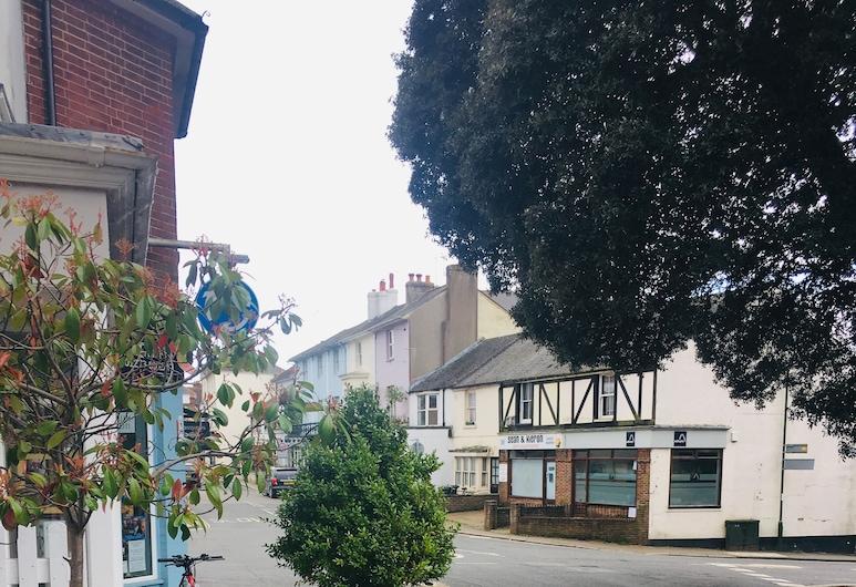 Hurst Cottage, Hassocks, Teres/Laman Dalam