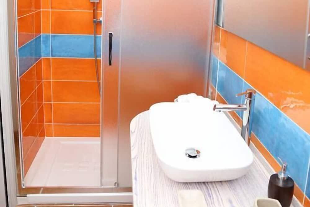 Luxury-Doppelzimmer, Terrasse - Badezimmer