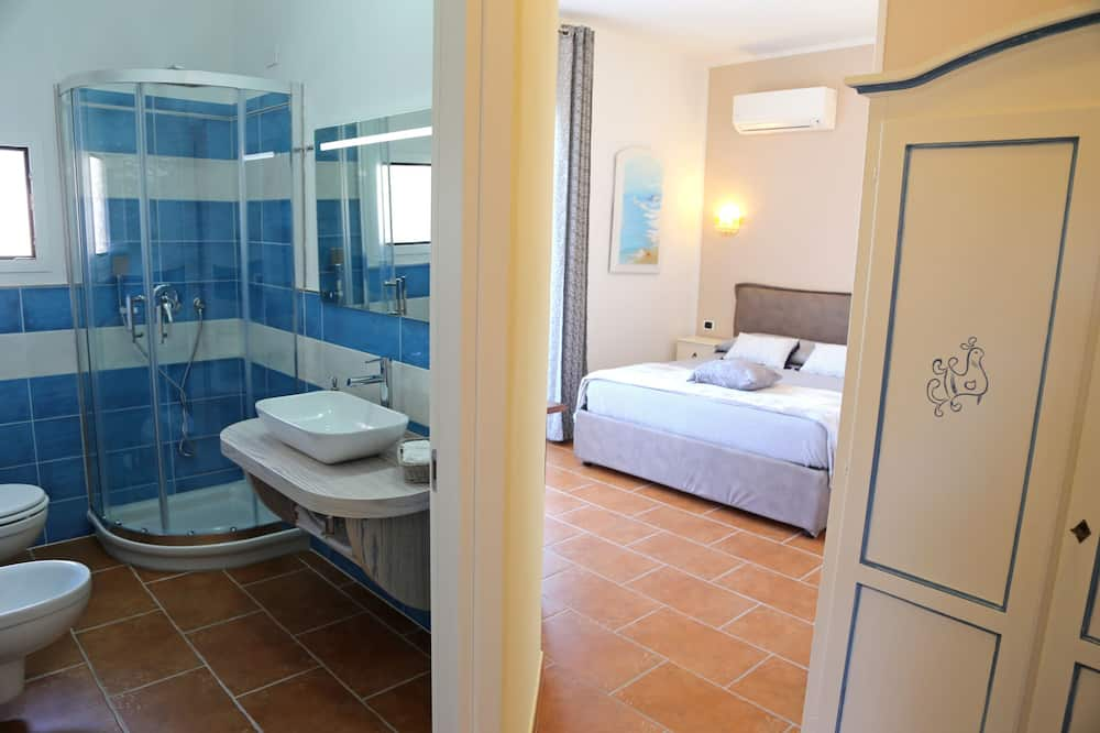 Doppelzimmer, Erdgeschoss - Badezimmer