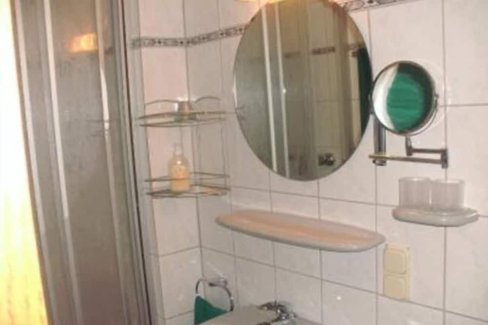Standard Double Room, Balcony - Bathroom