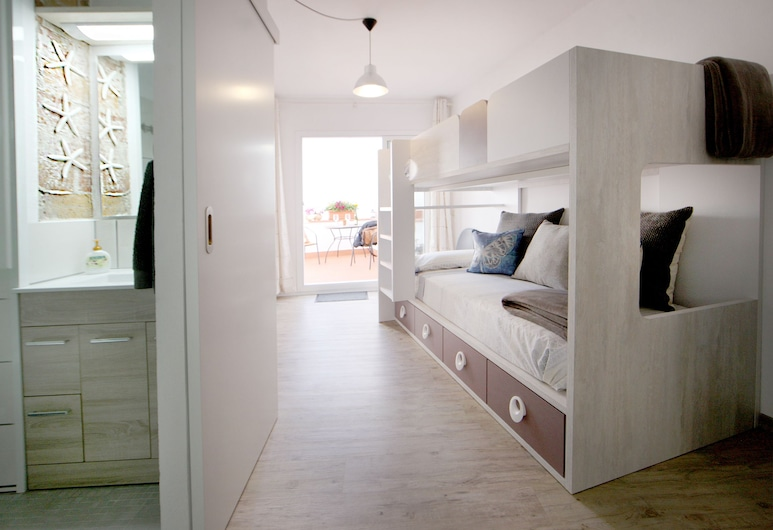Can Pepus Atic, Sitges, Apartment, 1 Bedroom, Living Area