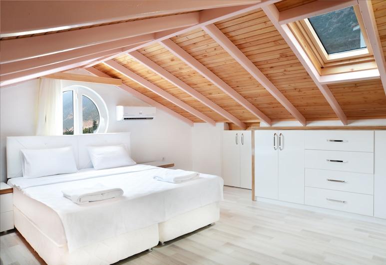 Duygu Apart, Kas, Superior-Apartment, eingeschränkter Meerblick, Zimmer