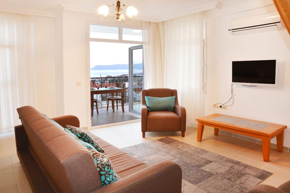 דירה משפחתית, נוף לים - אזור מגורים
