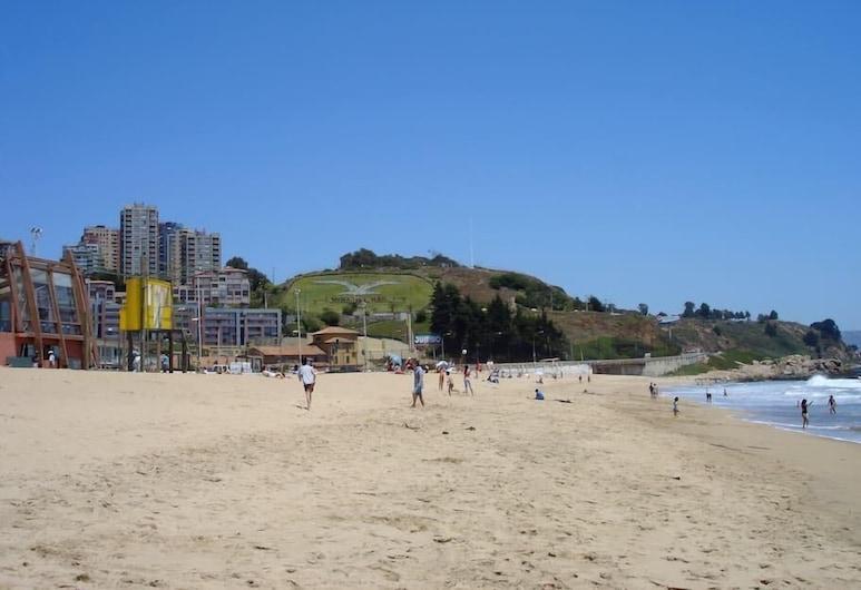 Reñaca Frente al Mar, Viña del Mar, Strand