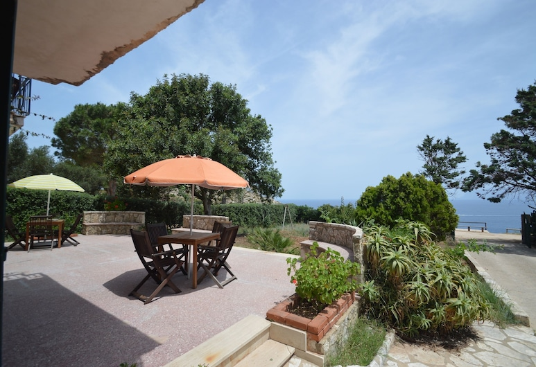 Appartamento Calarossa, Castellammare del Golfo, Leilighet, 2 soverom (Calarossa B), Terrasse/veranda