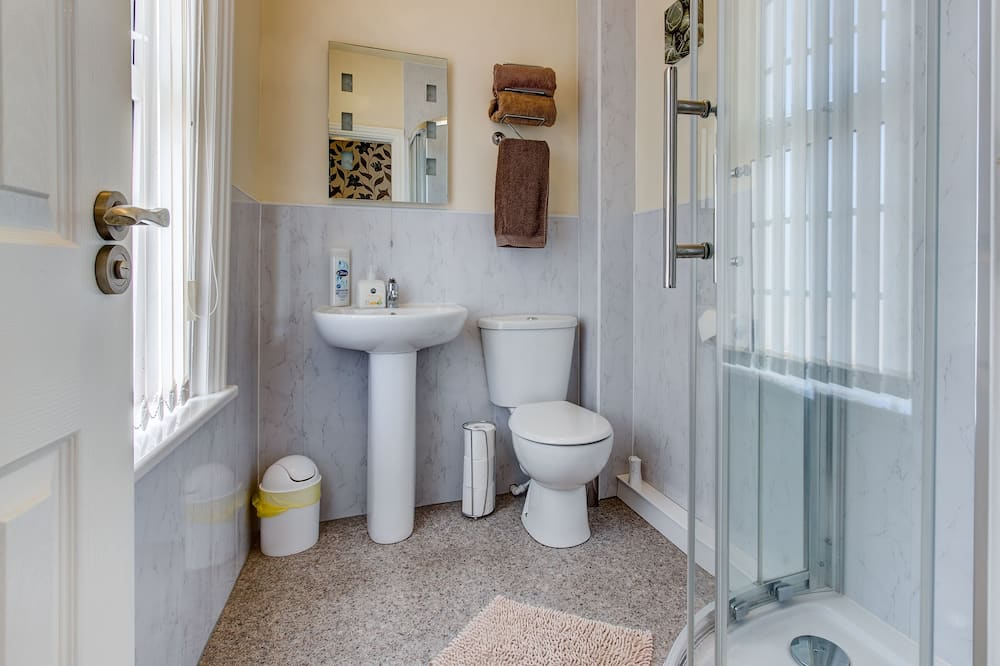 Habitación doble, para no fumadores, refrigerador - Baño