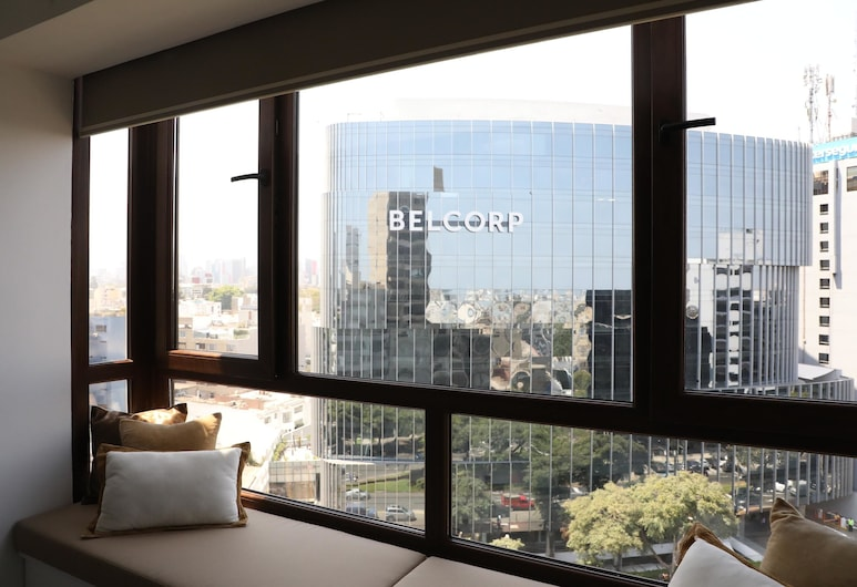 Stunning 12th floor apartment with a nice view, Lima, Külaliskorter, 1 magamistoaga, Vaade toast