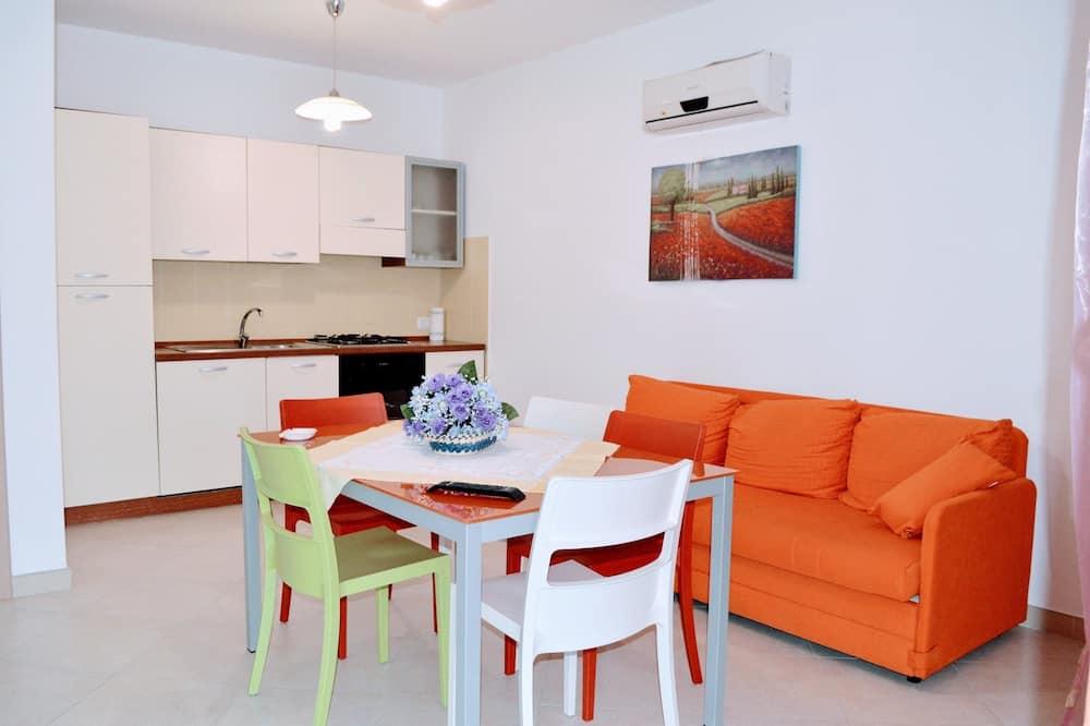 公寓, 2 間臥室 (App.6) - 客房內用餐