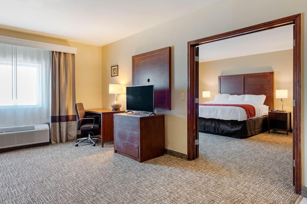 ห้องสวีท, เตียงคิงไซส์ 1 เตียง และโซฟาเบด, ปลอดบุหรี่ - ห้องพัก