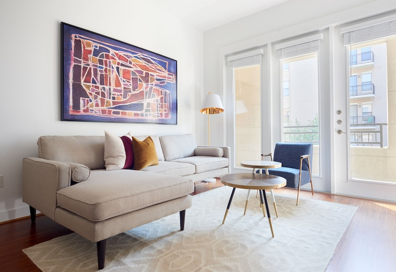 Sonder - Sawyer Flats, Dallas, Living Room