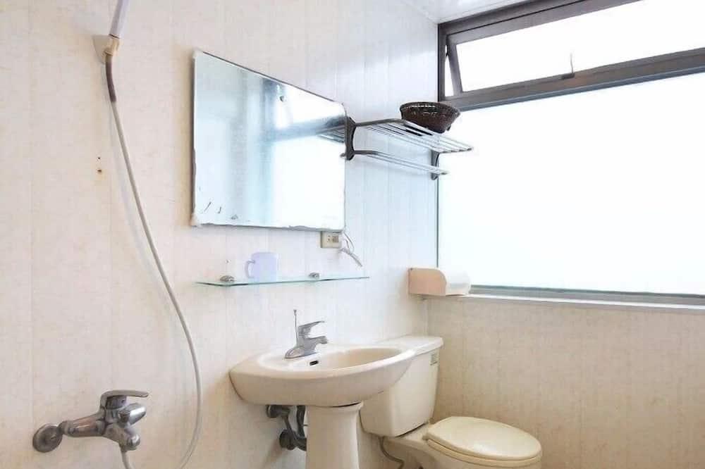 Chambre Quadruple, vue océan - Salle de bain