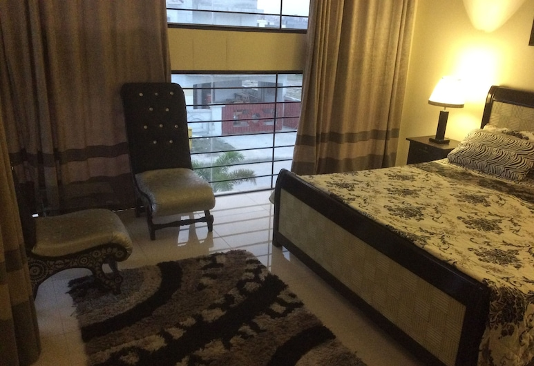 Executive Guest house, Rawalpindi, Chambre Double Deluxe, vue cour intérieure, Chambre
