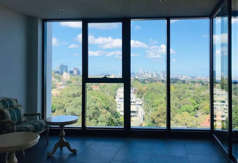European style furnished high rise with pano view, St. Leonards, Διαμέρισμα, 2 Υπνοδωμάτια, Δωμάτιο