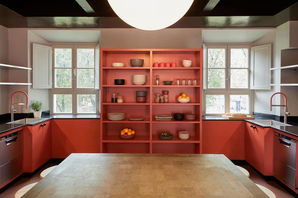 Camera Classic, bagno in camera - Cucina in comune