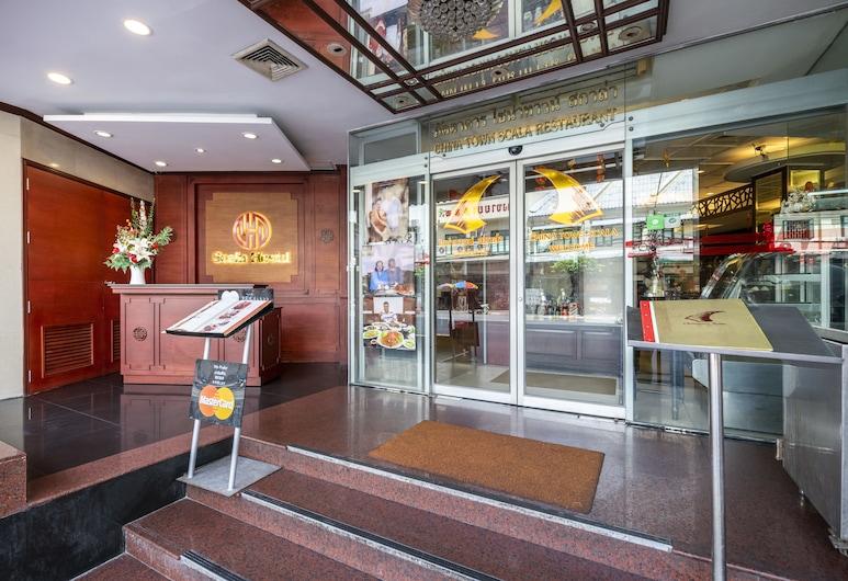 スカーラ ホステル, バンコク, ホテル エントランス
