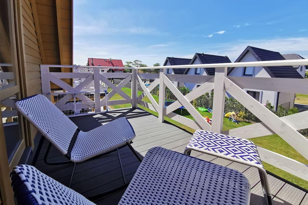 Deluxe-hytte (Morska Przystań) - Terrasse/patio