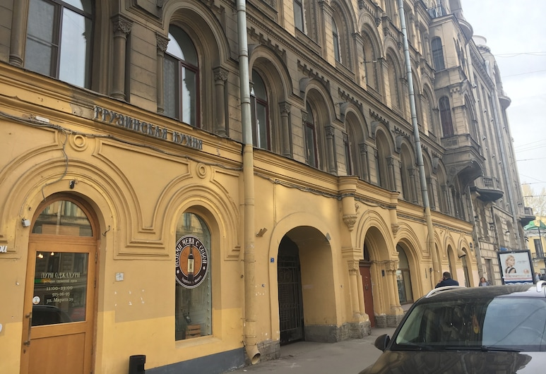 Union on Marata, Санкт-Петербург, Фасад отеля