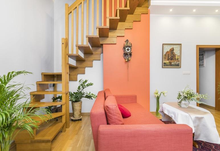 Maya's Flats & Resorts - Dluga 72, Gdansk, Apartment (Maisonette), Living Room