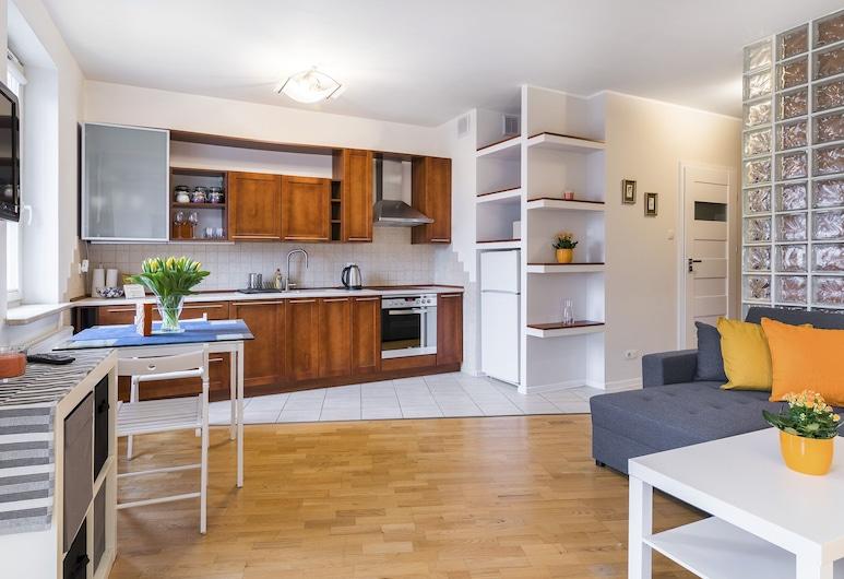 Maya's Flats & Resorts - Lastadia, גדנסק, דירה, חדר שינה אחד, אזור מגורים