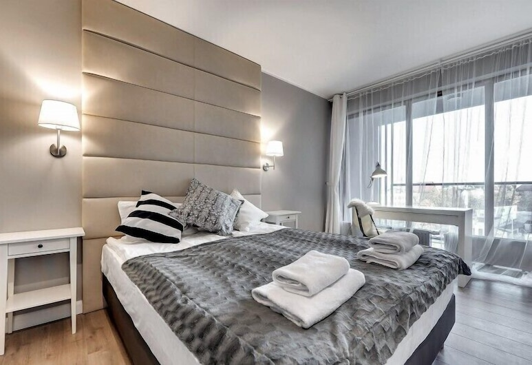 Aura by Downtown Apartments, Gdansk, Leilighet – superior, Rom