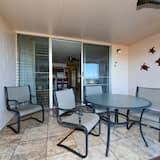 Apartman, 1 king size krevet i kauč na rasklapanje, trijem, pogled na ocean - Balkon