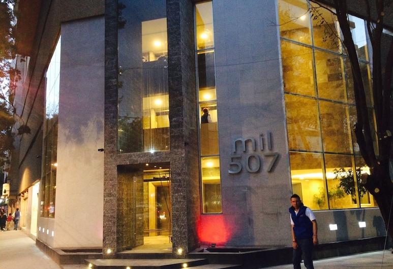 Polanco Super Lujo, Mexico City, Wejście do obiektu