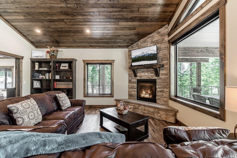 Luxusný dom - Obývačka