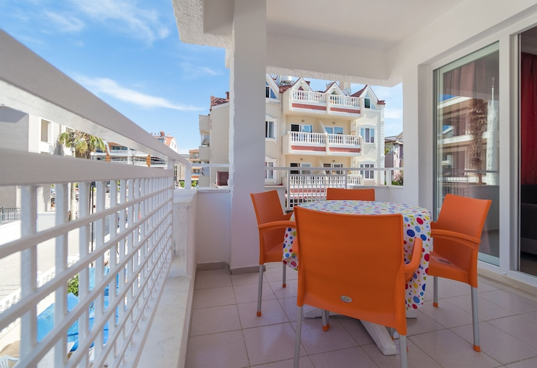 Sezin Apart, Marmaris, Standard Apart Daire, Şehir Manzaralı, Balkon