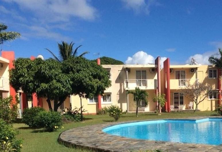Résidence les cygnes 2 pereybere, Grand-Baie, Comfort villa, vaade aeda, Fassaad