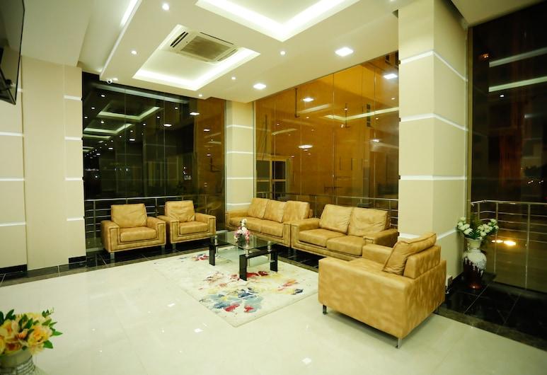 فندق ألفا سويتس , صلالة, مكتب الاستقبال