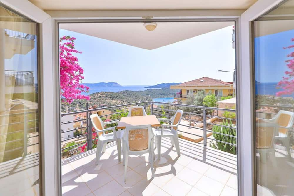 Luxury-Apartment, 3Schlafzimmer, Meerblick - Balkon