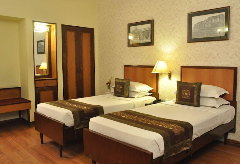Hotel Hawa Mahal, Jaipur, Deluxe Double Room, Guest Room