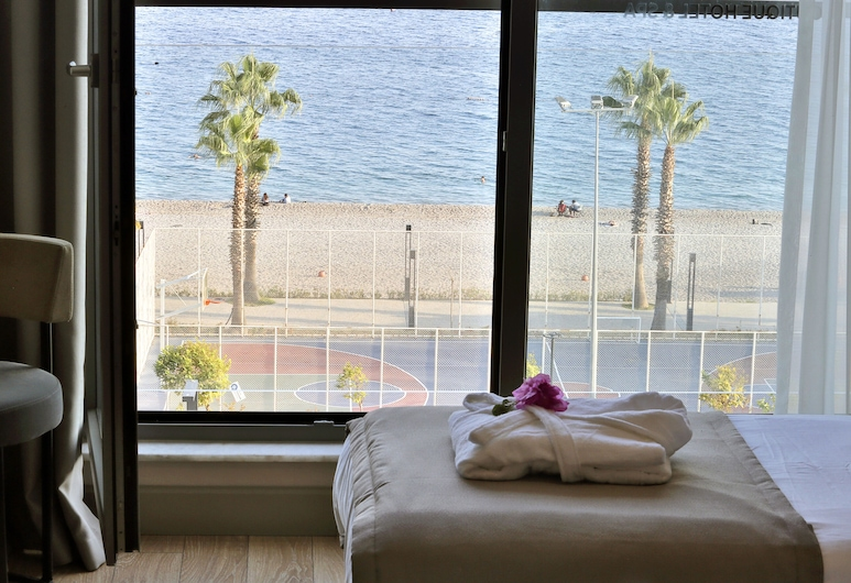 Pacco Hotel Spa, Konyaaltı, Deluxe Room with Sea View, Chambre