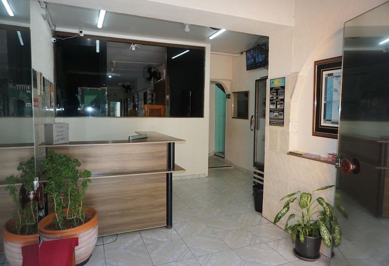 بوزادا أوركيداريو, سانتوس, مكتب الاستقبال