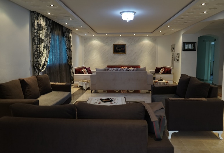 Dar Monia, La Marsa, Villa, Garden View, Living Area