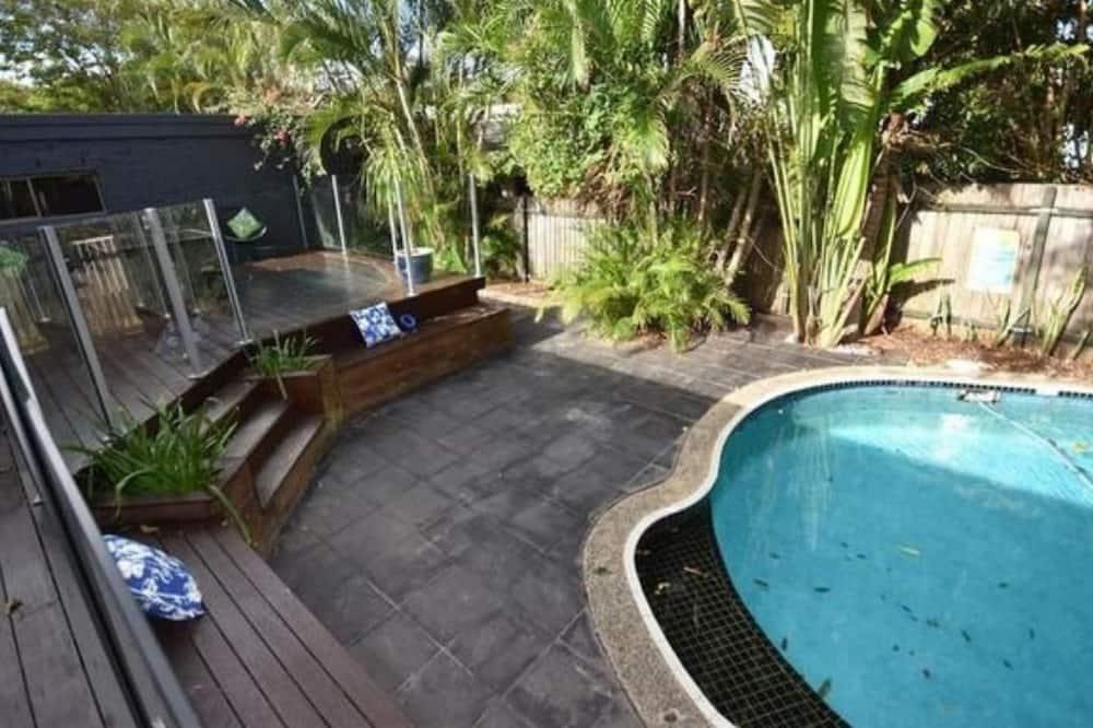 Hus – deluxe, 4 soverom, 2 bad, utsikt mot basseng - Utsikt fra rommet