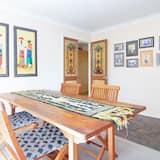 Deluxe-Haus, 3Schlafzimmer, 2 Bäder, Gartenblick - Essbereich im Zimmer