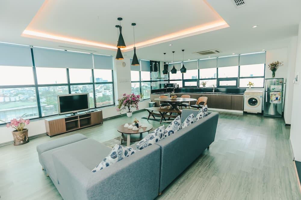 Panoramic-Suite - Wohnzimmer