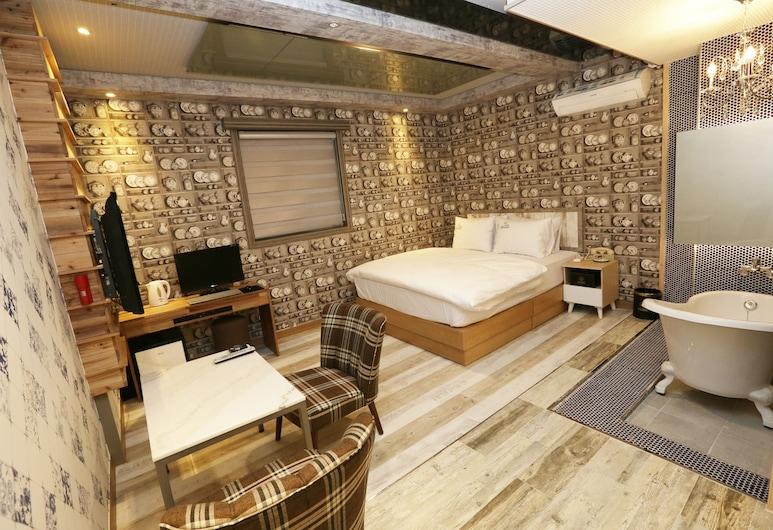 布蘭克設計酒店, 大邱, 套房, 客房