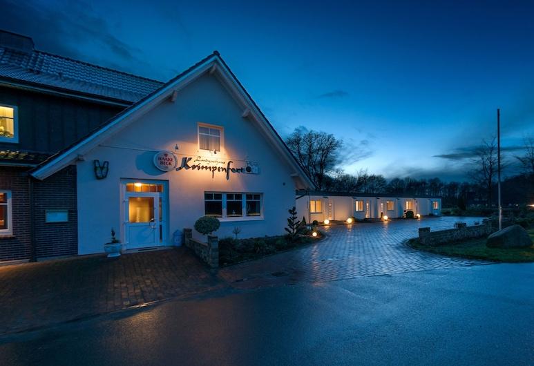 Landgasthaus Krimpenfort, Lohne, Hotel Front – Evening/Night